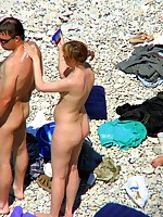 Nude beach voyeur photos