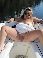 Plump nude boaters for good outdoor fucking - Chubby Naturists