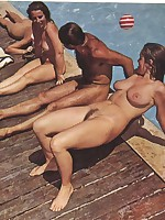 Old nudist photos - Beach Amateur Group